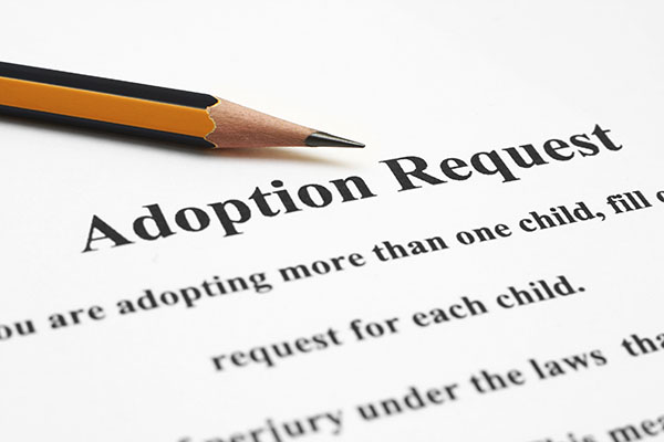 Picture of adoption request